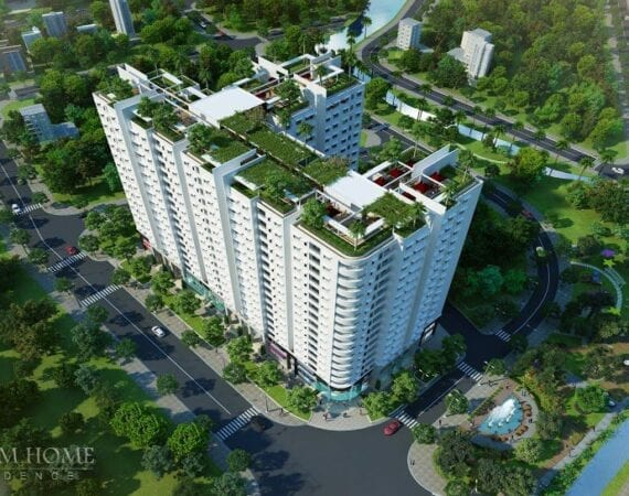 Phoi Canh Truoc Dreamhome Residence