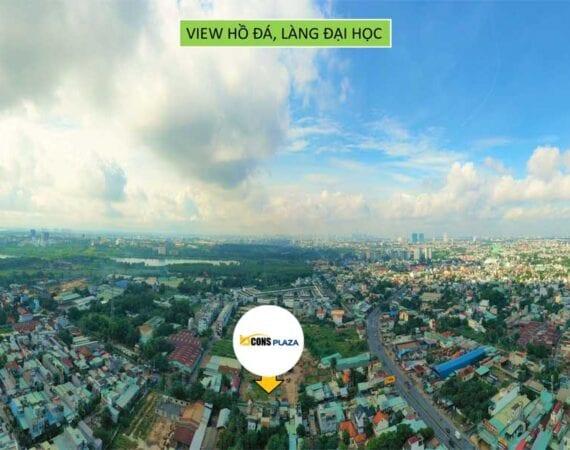 Bcons Plaza View Ho Da Va Lang Dai Hoc